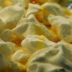 Fleur de lait (miel, meringue)